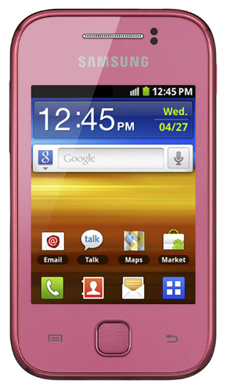 Samsung S5360 Galaxy Y Pink
