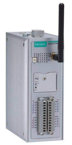 Модуль MOXA ioLogik 2512-WL1-EU Smart Remote I/O with 8 DIs, 8 DIOs
