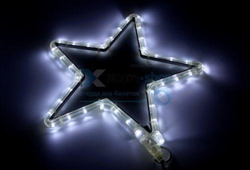 Фигура светодиодная NEON-NIGHT 501-211-1 звездочка Led, цвет белый, размер 30*28 см