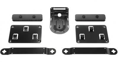 Комплект монтажный Logitech 939-001644 для камеры Rally, с зажимами для кабелей (2 шт.) и крепежом для камеры, колонок (2 шт.) и концентраторов (2 шт.