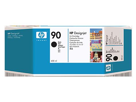 Фото - Картридж HP C5058A № 90 с чёрными чернилами 400 мл картридж hp 843c c1q68a с желтыми чернилами 400 мл для pagewide xl 5000 4x000