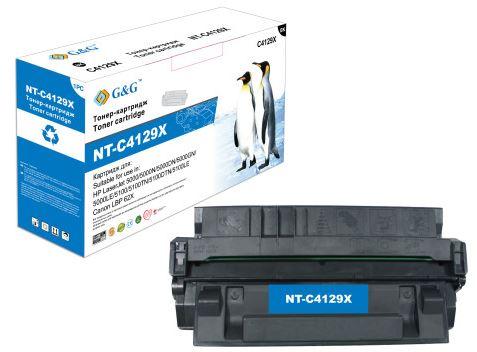Тонер-картридж G&G NT-C4129X для HP LaserJet 5000/5000N/5000DN/5000GN/5000LE/5100/5100TN/5100DTN