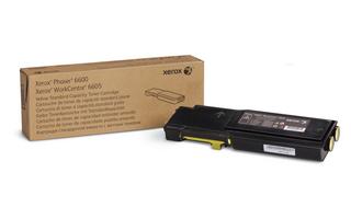 Принт-картридж Xerox 106R02251 желтый (2K) Phaser 6600/WC 6605 принт картридж xerox 106r02251 желтый 2k phaser 6600 wc 6605