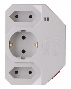 Сетевой фильтр Most MHV (3 розетки) белый 599880