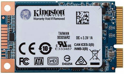Накопитель SSD mSATA Kingston SUV500MS/480G UV500 480GB TLC 3D NAND SATA 6Gb/s 520/500MB/s 79K/35K IOPS MTBF 1M RTL