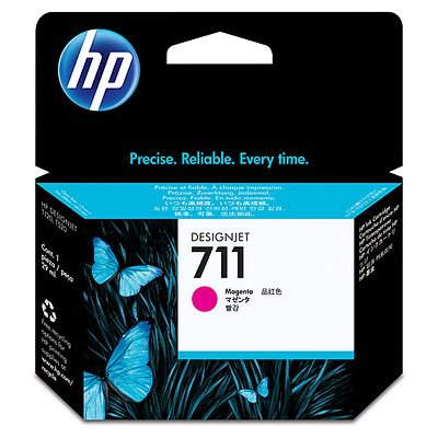 Картридж HP CZ131A №711 для принтеров HP Designjet T120.T520,T525, пурпурный, 29мл