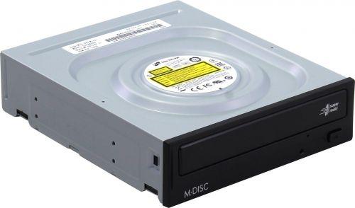Привод DVD±RW LG GH24NSD0(1/5) SATA, DVD±R: 16x, DVD±R DL: 12x, DVD+RW: 13x, DVD-ROM: 16x, CD-ROM/R: 48x, CD-RW: 40x, Black (OEM)