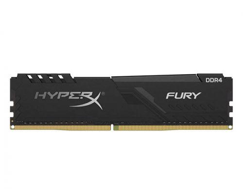 Модуль памяти DDR4 8GB (2*4GB) HyperX HX426C16FB3K2/8 Fury black PC4-21300 2666MHz CL16 288-Pin XMP радиатор 1.2V модуль памяти ddr4 8gb hyperx hx426c13pb3 8 predator pc4 21300 2666mhz cl13 1 35v xmp радиатор rtl