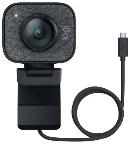 Веб-камера Logitech StreamCam 960-001281 черный USB3.1 с микрофоном