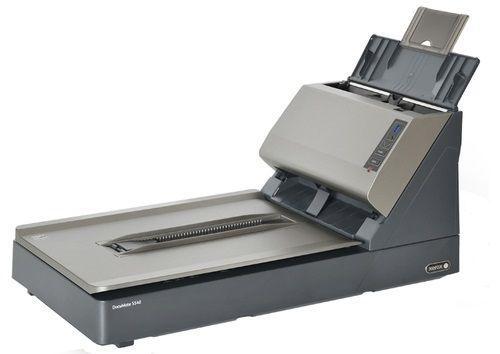 Сканер Xerox DocuMate 5540 A4, Flatbed + ADF, 40ppm, Duplex, 600 dpi, USB 2.0, max 5000 pages per day