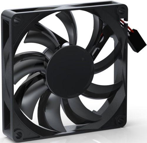 Вентилятор для корпуса Noiseblocker BlackSilentPRO PC-P 80mm, 600-2500rpm, 26dBA, 30.61 CFM, 4-pin PWM, Slim вентилятор noiseblocker blacksilentpro pr 2 60mm 2500rpm