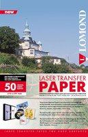 Бумага Lomond 0807435 термотрансферная, A4 (21X29,7см), 50л, для лазерной печати (д/твердых поверхностей)