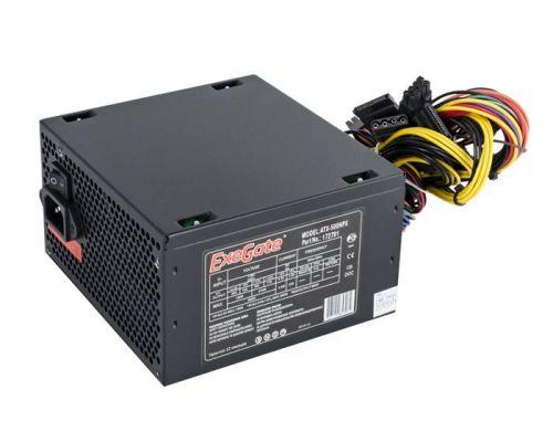 Фото - Блок питания ATX Exegate 500NPX EX224734RUS-S 500W, SC, black,12cm fan, 24p+4p, 6/8p PCI-E, 3*SATA, 2*IDE, FDD + кабель 220V с защитой от выдергивания выключатель сенсорный с контактным проводом 220v 500w pm218ws 220v