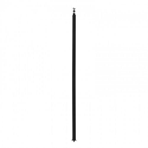 Колонна Legrand 653015 Snap-On алюминиевая с крышкой из пластика 1 секция 4,02 метра, с возможностью увеличения высоты колонны до 5,3 метра, цвет черн