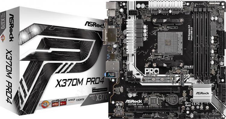 ASRock X370M PRO4