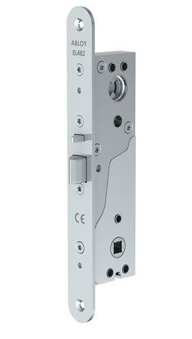 Замок Abloy EL482 (29/25) эл-мех соленоидный, для профильных дверей, режимы НО/НЗ, 12-24VDC, 0,35Amax