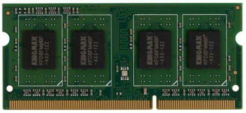 Фото - Модуль памяти SODIMM DDR3 4GB Kingmax KM-SD3-1600-4GS PC3-12800 1600MHz CL11 1.35V RTL модуль памяти qumo 4gb ddr3 1600mhz sodimm 204pin cl11 qum3s 4g1600c11