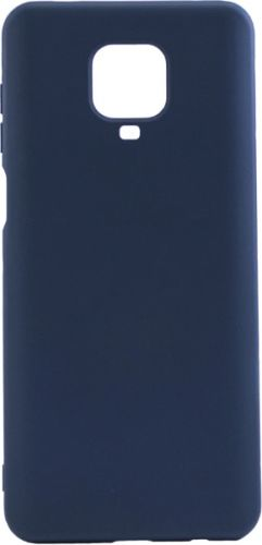 Чехол BoraSco Microfiber Case 38957 для Xiaomi Redmi Note 9 Pro/ 9S синий чехол activ для xiaomi redmi note 9s redmi note 9 pro full original design grey 119458