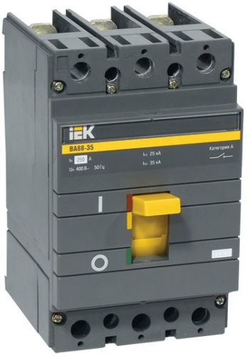 Автоматический выключатель IEK SVA30-3-0200 ВА88-35 3Р 200А 35кА