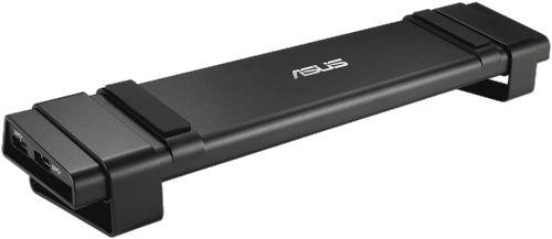 Док-станция ASUS HZ-3A PLUS 90XB05GN-BDS000 USB 3.0 (DC-out 90W F4, F4.5, F5.5, 4*USB 3.0, mic, audio, 10/100/1000M LAN, DVI-I, HDMI 4K)