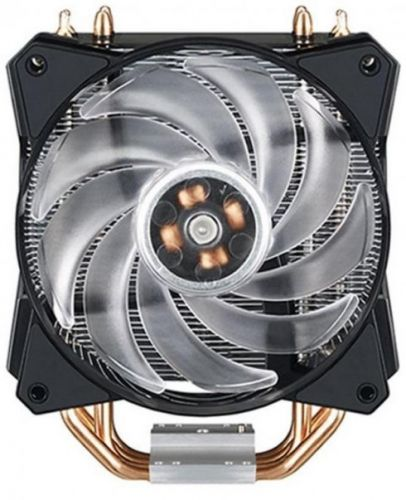 Кулер Cooler Master MasterAir MA410P MAP-T4PN-220PC-R1 2066/2011-v3/2011/115x/1366/AM4/AM3+/AM3/AM2+/AM2/FM2+/FM2/FM1 650-2000RPM, 66.7 CFM, 6-30 dBA,
