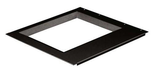 Рамка Hyperline TDP-15-RAL9004 для монитора 15-дюймового монитора (размер окна 285х215 мм), для крепления в 19