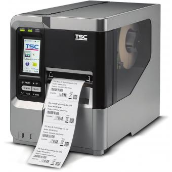 Термопринтер TSC 99-151A002-7ALF Принтер этикеток (термотрансферный, 300dpi) TSC MX340P, внутренний смотчик