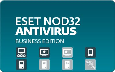 Eset NOD32 Antivirus Business Edition for 58 users, 1 мес.