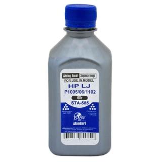 Тонер B&W (Black&White) STA-585 HP LJ P1005/06/1102/1120/1505/22/66/1606/LBP-3010/3250 (фл.60г) Standart фас России тонер b