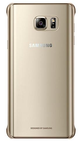 Samsung Galaxy Note 5 СlCover золотистый (EF-QN920CFEGRU)
