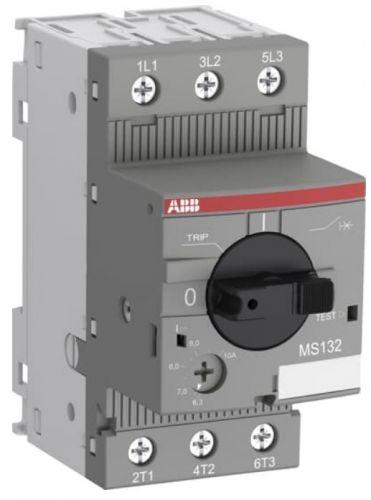 Автоматический выключатель ABB 1SAM350000R1008 с регулир.тепловой защитой 2.5A-4А, 100кА, класс тепл.расц.10 MS132-4.0
