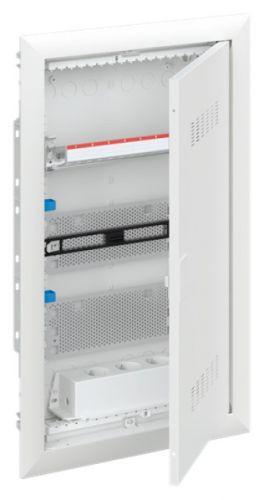 Шкаф ABB 2CPX031384R9999 мультимедийный с дверью с вентиляционными отверстиями UK636MV (3 ряда)
