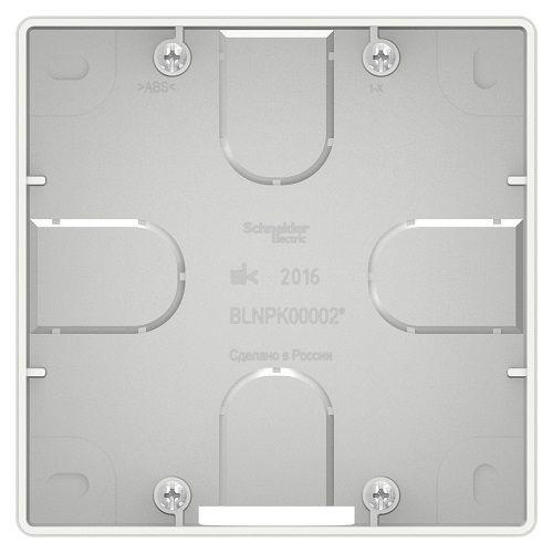 Коробка Schneider Electric BLNPK000021 подъемная для силовых розеток (белый) внутр