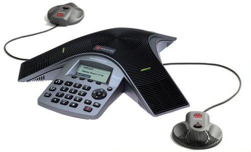 Телефон для конференций Polycom SoundStation Duo 2200-19000-114 dual-mode conference phone w/ factory disabled media encryption including Power Supply