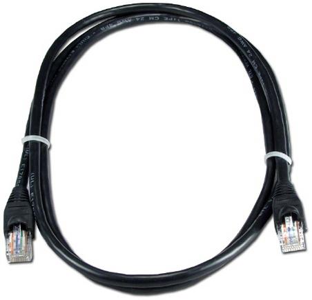 Фото - Кабель патч-корд UTP 5e кат. 1м. GCR GCR-LNC06-1.0m , AWG24, RJ45, литой (Черный), пластик пакет кабель патч корд utp 5e кат 20м gcr gcr lnc03 20 0m rj45 литой серый