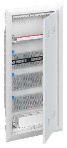 Шкаф ABB 2CPX031385R9999 мультимедийный с дверью с вентиляционными отверстиями UK648MV (4 ряда)