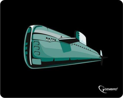 Коврик для мыши Gembird MP-GAME7 подводная лодка, размеры, 250*200*3мм
