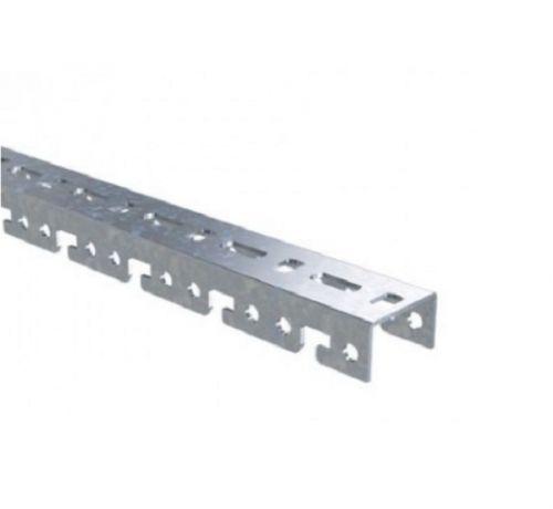 Профиль монтажный DKC BPF2904 BPF, для консолей быстрой фиксации BBF, L400, толщ.2,5 мм,