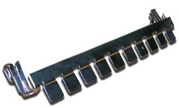 Плинт TWT TWT-LSA10P-DIS-09 размыкаемый LSA Profil, Eco, 10 пар, маркировка от 0 до 9
