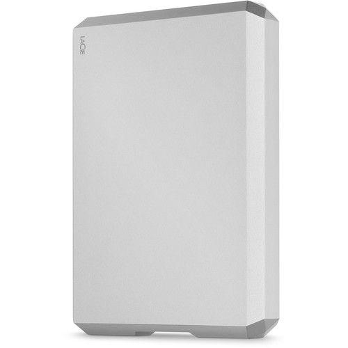 Внешний жесткий диск 2.5'' Lacie STHG5000400 5TB, USB 3.1-C, Mobile Drive, серебристый