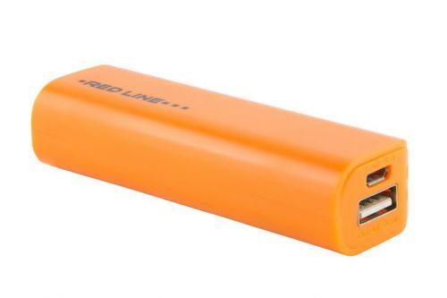 Аккумулятор внешний универсальный Red Line R-3000 УТ000008708 3000 mAh, оранжевый