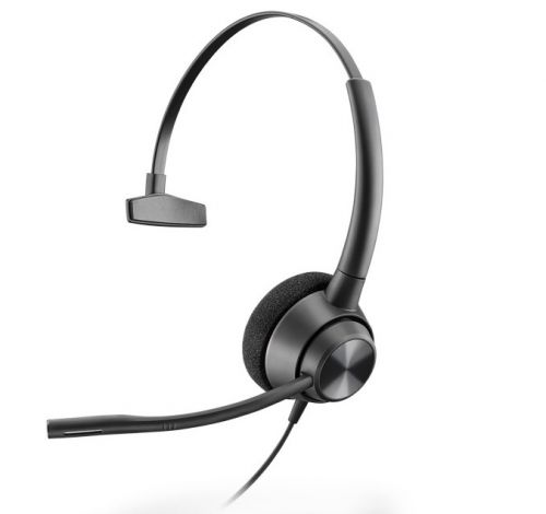 Гарнитура Plantronics EncorePro EP310 QD 214572-01 профессиональная, телефонная гарнитура (один динамик, разъем QD) гарнитура