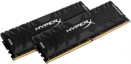 Модуль памяти DDR4 32GB (2*16GB) HyperX HX426C13PB3K2/32 Predator PC4-21300 2666Mhz CL13 1.35V XMP Радиатор RTL модуль памяти ddr4 8gb hyperx hx426c13pb3 8 predator pc4 21300 2666mhz cl13 1 35v xmp радиатор rtl