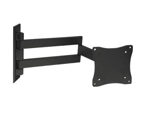 Фото - Кронштейн настенный Arm Media LCD-7101 Arm Media 10014 для телевизора черный 10-26 макс.15кг поворотно-выдвижной и наклонный кронштейн для телевизора arm media lcd 415 24 55 настенный поворотно выдвижной и наклонный