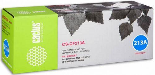 Картридж Cactus CS-CF213A для принтеров HP LaserJet Pro 200 M251/M276, пурпурный, 1800 стр.