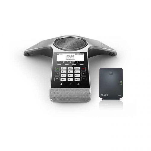 Телефон для конференций Yealink CP930W-Base DECT и база W60B конференц телефон ip yealink cp930w base