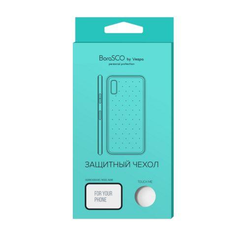 Чехол BoraSco 34613 силиконовый для Xiaomi Mi A2 Lite/ Redmi 6 Pro прозрачный