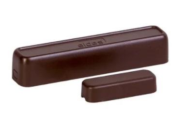 Извещатель Eldes EWD2 охранный магнито-контактный, извещатель вибрационный и температуры беспроводный для работы с приборами ESIM264, ESIM364, EPIR3 и