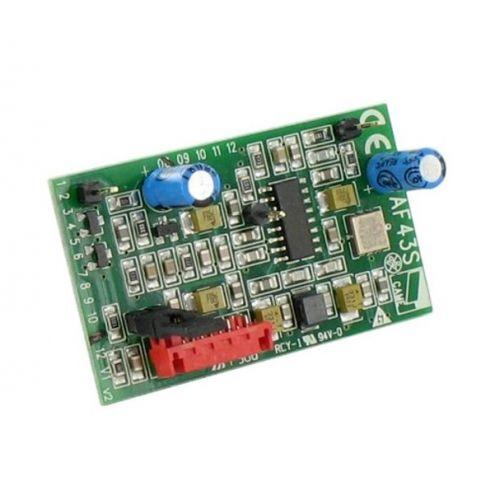 Радиоприемник CAME AF43TW встраиваемый, частота 433,92 МГц для брелоков TW2EE, TW4EE