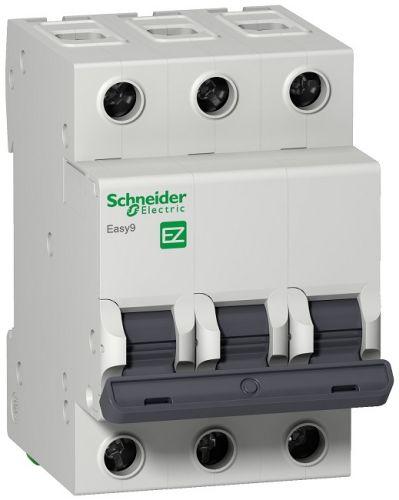 Выключатель нагрузки Schneider Electric EZ9F14350 трехполюсный 50А B Easy9 4.5кА